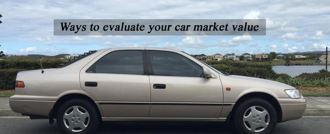 evaluate your car market