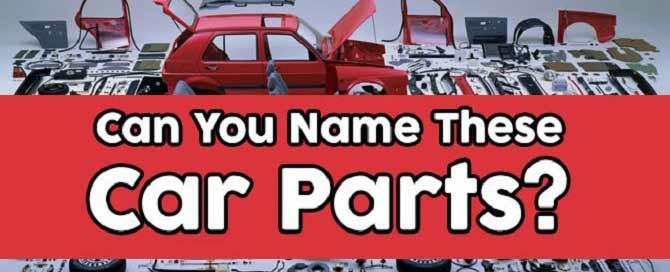 types of car parts
