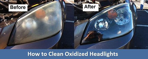 How to Clean Oxidized Headlights?