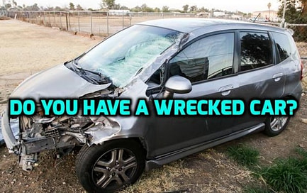 how to sell my wrecked car for cash in Melbourne